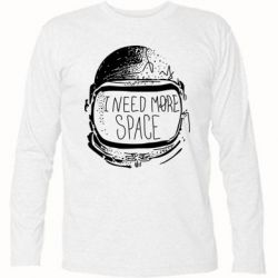 Футболка с длинным рукавом I need more space - FatLine