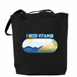 Сумка I need vitamin sea