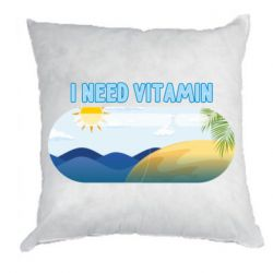 Подушка I need vitamin sea