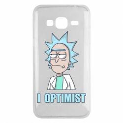 Чохол для Samsung J3 2016 I Optimist