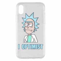 Чохол для iPhone X/Xs I Optimist