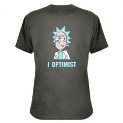 Камуфляжна футболка I Optimist