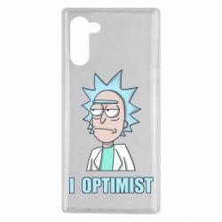 Чохол для Samsung Note 10 I Optimist