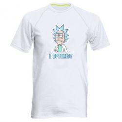 Чоловіча спортивна футболка I Optimist