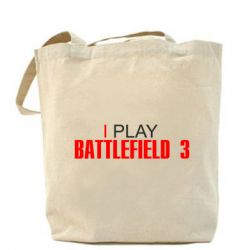 Сумка I play Battlefield 3 - FatLine
