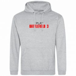 Толстовка I play Battlefield 3 - FatLine