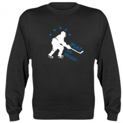 Реглан I play hockey - FatLine