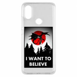 Чехол для Xiaomi Mi A2 I want to BELIEVE poster