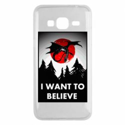 Чехол для Samsung J3 2016 I want to BELIEVE poster