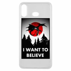 Чехол для Samsung A6s I want to BELIEVE poster
