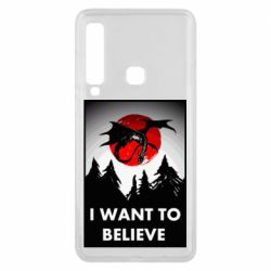 Чехол для Samsung A9 2018 I want to BELIEVE poster