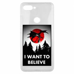 Чехол для Xiaomi Mi8 Lite I want to BELIEVE poster