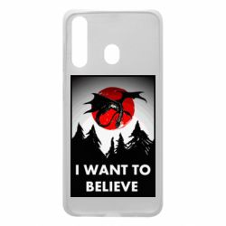 Чехол для Samsung A60 I want to BELIEVE poster
