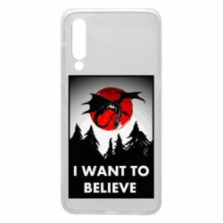 Чехол для Xiaomi Mi9 I want to BELIEVE poster