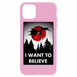 Чехол для iPhone 11 I want to BELIEVE poster