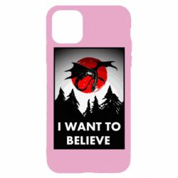 Чехол для iPhone 11 Pro I want to BELIEVE poster