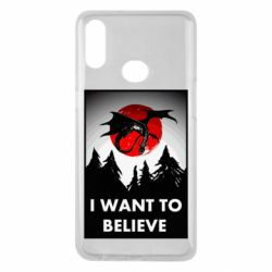 Чехол для Samsung A10s I want to BELIEVE poster