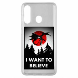 Чехол для Samsung M40 I want to BELIEVE poster