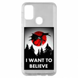 Чехол для Samsung M30s I want to BELIEVE poster