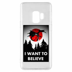 Чехол для Samsung S9 I want to BELIEVE poster