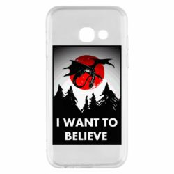 Чехол для Samsung A3 2017 I want to BELIEVE poster