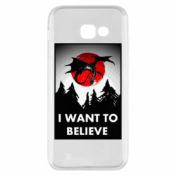 Чехол для Samsung A5 2017 I want to BELIEVE poster
