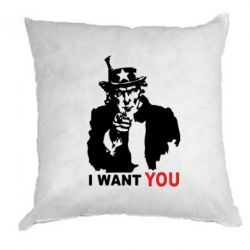 Подушка I want you (uncle Sam) - FatLine