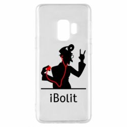 Чехол для Samsung S9 iBolit