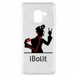 Чехол для Samsung A8 2018 iBolit