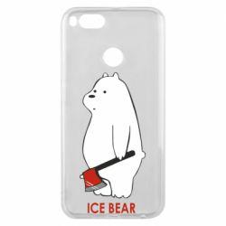 Чехол для Xiaomi Mi A1 Ice bear