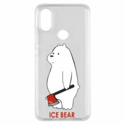 Чехол для Xiaomi Mi A2 Ice bear