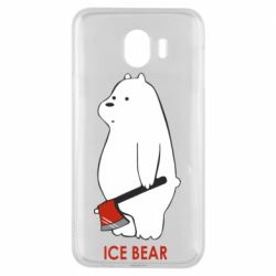 Чохол для Samsung J4 Ice bear