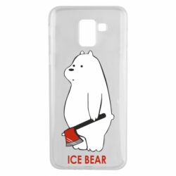 Чохол для Samsung J6 Ice bear