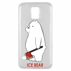 Чохол для Samsung S5 Ice bear