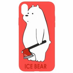 Чохол для iPhone XR Ice bear