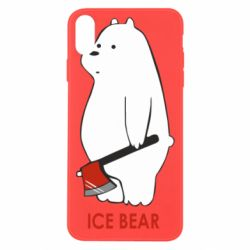Чохол для iPhone Xs Max Ice bear