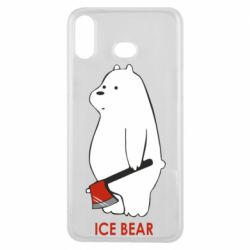 Чохол для Samsung A6s Ice bear
