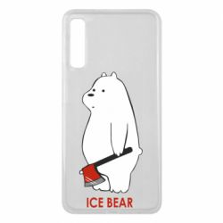 Чохол для Samsung A7 2018 Ice bear