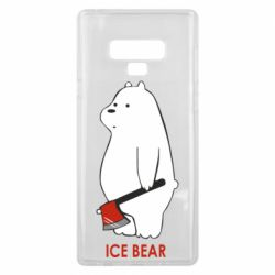 Чохол для Samsung Note 9 Ice bear
