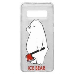 Чохол для Samsung S10+ Ice bear
