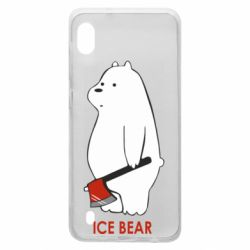 Чохол для Samsung A10 Ice bear