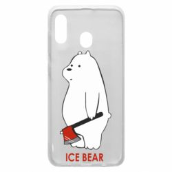 Чохол для Samsung A30 Ice bear