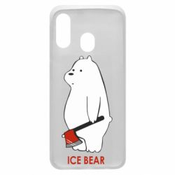 Чохол для Samsung A40 Ice bear