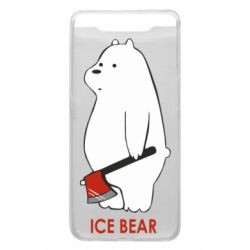 Чохол для Samsung A80 Ice bear