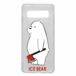 Чохол для Samsung S10 Ice bear