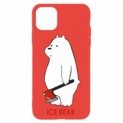 Чохол для iPhone 11 Ice bear