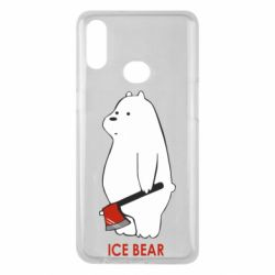 Чохол для Samsung A10s Ice bear