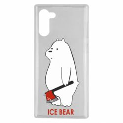 Чохол для Samsung Note 10 Ice bear