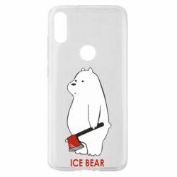 Чехол для Xiaomi Mi Play Ice bear