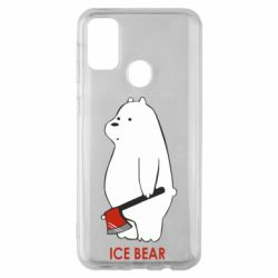 Чохол для Samsung M30s Ice bear